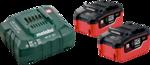 Metabo Basis-Set LiHD (2x 18V/5,5Ah/ Ladegerät) im Karton