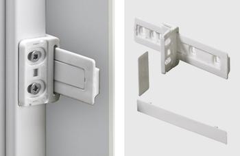 Kühlschrankumbau : Möbel kühlschrankumbau schleppbeschlag kunststoff weiß