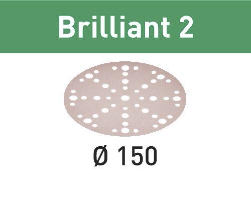 575147 Festool Schleifscheiben STF D150//48 P120 BR2//100Brilliant 100 St